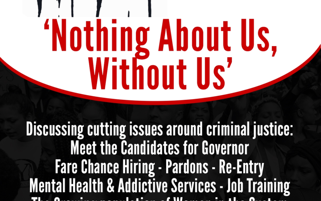 """Panel: NAACP-CT """"Nothing About Us Without Us"""" Criminal Justice Summit, April, 21, 2018"""