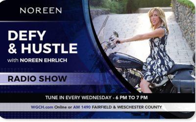 Radio/Podcast: Jeff on Defy & Hustle with Noreen Ehrlich, WGCH 1490 am Greenwich, June 19, 2019, 6 pm