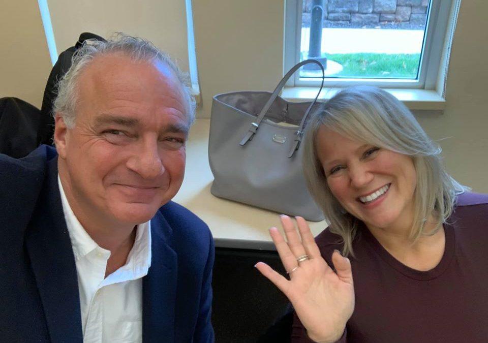 Jeff Grant & Jacqueline Polverari Speak at Albertus Magnus College, Nov. 14, 2019
