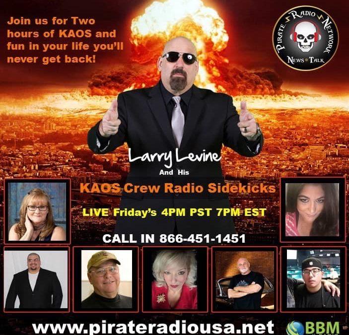 The Criminal Justice Insider Podcast with Babz Rawls Ivy & Jeff Grant: Guest Larry Levine, Talk Show Host & Criminal Justice Consultant, Fri., Feb. 21, 2020, 9 am ET