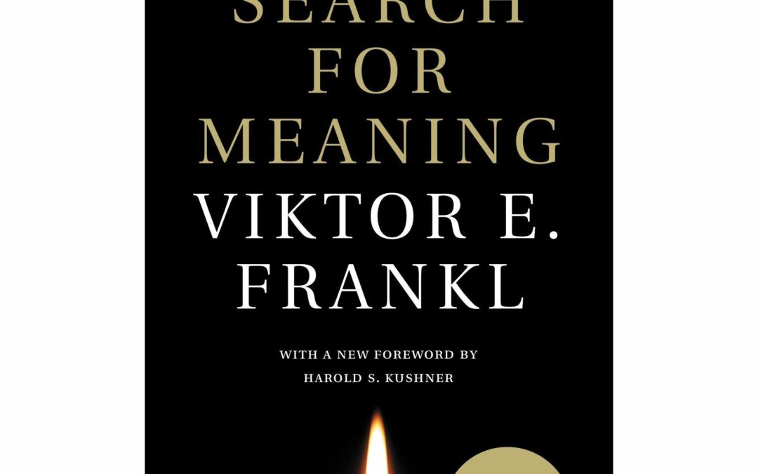 Man's Search for Meaning, by Viktor Frankl: A Book Report from Inside Prison