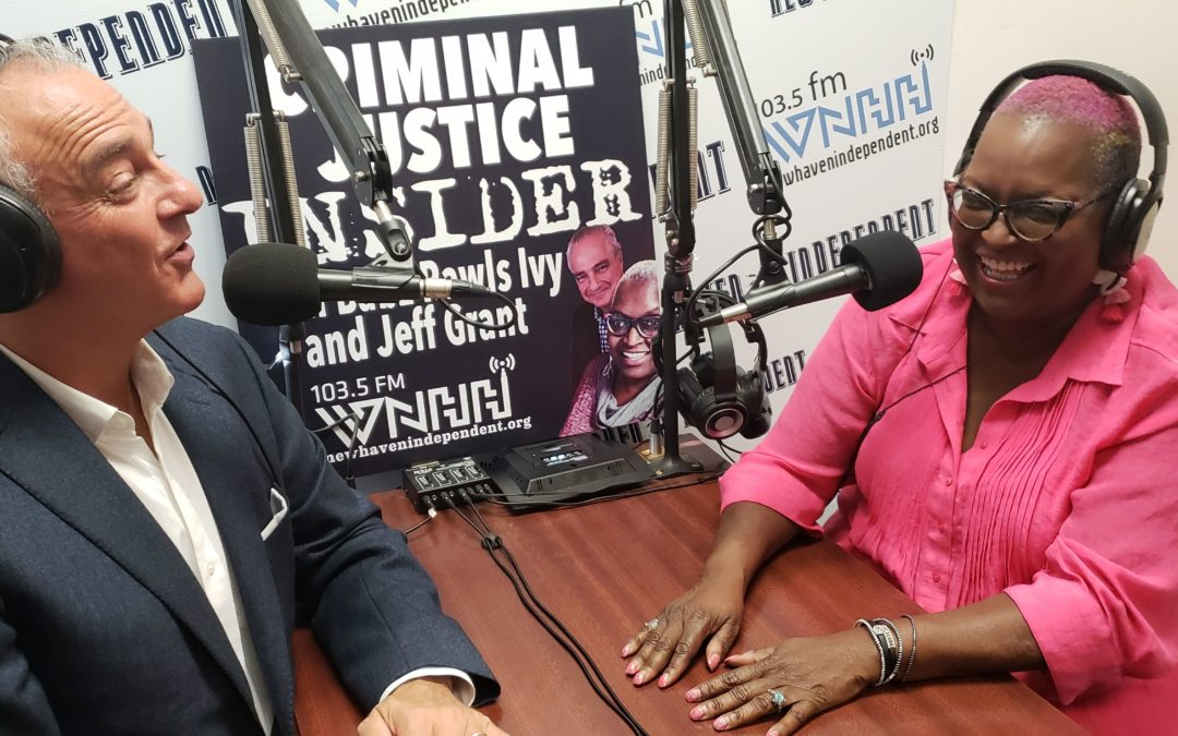 Criminal Justice Insider with Babz Rawls Ivy & Jeff Grant: Babz Interviews Jeff About the Reinstatement of His Law License After Prison, Fri., May 21, 2021, 9 am ET