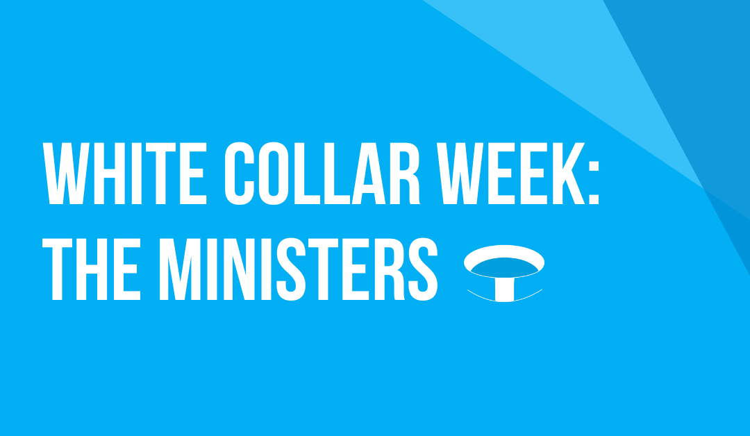 White Collar Week with Jeff Grant, Podcast Ep. 10: The Ministers, with Guests: Father Joe Ciccone & Father Rix Thorsell
