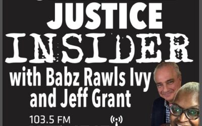 Criminal Justice Insider with Babz Rawls Ivy & Jeff Grant, Guest: Tonier Cain, Live at the Trauma & Recovery Conference Presented by The Connecticut Women's Consortium, Wed., Oct. 21, 2020, 12:40 pm