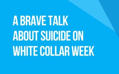 White Collar Week with Jeff Grant, Podcast Ep. 15: A Brave Talk About Suicide with Bob Flanagan, Elizabeth Kelley & Meredith Atwood