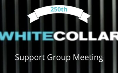 White Collar Support Group 250th Meeting & Reunion! Online on Zoom, Open to All Fellow Travelers. Mon., Mar. 29, 2021, 7 pm ET, 6 pm CT, 5 pm MT, 4 pm PT, 1 pm HST